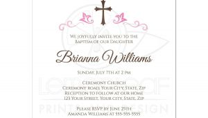Girl Baptism Invitations Free Printable Baby Girl Baptism Invitations Baby Girl Christening