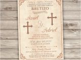 Girl Baptism Invitations In Spanish 12 Printed with Envelopes Siblings Spanish Baptism