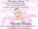 Girl Baptism Invitations In Spanish Baptism Invitation In Spanish Invitations