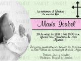 Girl Baptism Invitations In Spanish Baptism Invitations In Spanish