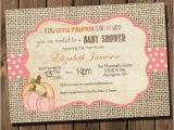 Girl Pumpkin Baby Shower Invitations Pink Little Pumpkin Girl Baby Shower Invitations Diy