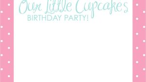 Girly Birthday Invitations Free Printable Free Printable Birthday Invitations for Girls Template