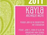 Girly Graduation Invitations Girly Graduation Invitation