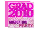Girly Graduation Invitations Graduation Party Girly Pink Invitation Zazzle