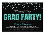 Glitter Graduation Party Invitations Personalized Glitter Graduation Invitations
