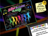 Glow Stick Party Invitations Gallery for Gt Glow Stick Party Invitations