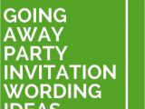 Going Away Party Invitation Sample Going Away Party Invitation Wording Funny Cimvitation