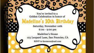 Golden Birthday Invitations Kids Golden Birthday Invitation Printable or Printed with Free