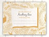 Golden Book Baby Shower Invitations Golden Books Baby Shower Invitation Minimalist Ebookzdb