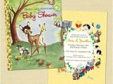 Golden Book Baby Shower Invitations Golden Books Baby Shower Invite