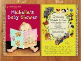 Golden Book Baby Shower Invitations Little Golden Book Inspired Baby Shower by thepurplemonkeyshop