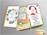 Golden Book Baby Shower Invitations Little Golden Book theme Baby Shower Invitation or All