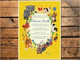 Golden Book Baby Shower Invitations Little Golden Books Birthday or Baby Shower Printable