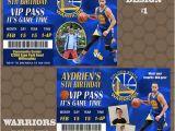 Golden State Warriors Birthday Invitations Golden State Warriors Basketball Birthday Party Invitations