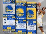 Golden State Warriors Birthday Invitations Golden State Warriors Birthday Invitation Basketball by
