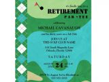 Golf Retirement Party Invitations Golf Course Retirement Party Invitation A Retirement Party