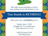 Golf Retirement Party Invitations Golf Party Invitations Template Resume Builder