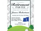 Golf Retirement Party Invitations Golf Retirement Party Invitations Zazzle