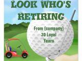 Golf Retirement Party Invitations Golf Retirement Quotes Quotesgram