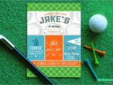 Golf themed Party Invitations Free Printable Golf Birthday Invitations