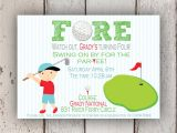 Golf themed Party Invitations Golf themed Birthday Invitations Ideas Bagvania Free