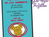 Goodbye Party Invitation Wording Funny Funny Farewell Invitations