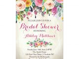 Gorgeous Bridal Shower Invitations Beautiful Floral Bridal Shower Invitation Baby Card