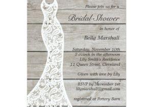 Gorgeous Bridal Shower Invitations Beautiful Rustic Bridal Shower Invitation