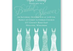Gorgeous Bridal Shower Invitations Simply Gorgeous Mini Bridal Shower Invitation