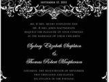 Goth Wedding Invitations Goes Wedding Stylish Gothic Wedding Invitation Design