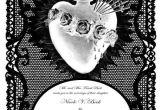 Goth Wedding Invitations Gothic Wedding Invitation Templates