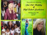 Graduation and 18th Birthday Party Invitations and the Invitation We Sent Out