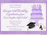 Graduation and 18th Birthday Party Invitations Photo Graduation Invitations Custom Open House Cards 2017