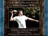 Graduation and 18th Birthday Party Invitations Photo Teen Guy Birthday Invitations Party Modern Text