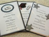 Graduation Announcement Vs Invitation Crafty Quot Magra Quot Graduation Invitations