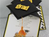 Graduation Cap Invitations Cards 3d Graduation Cap Pop Up Invitations Jinkys Crafts