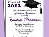 Graduation Celebration Invitation Wording Graduation Party or Announcement Invitation Printable or