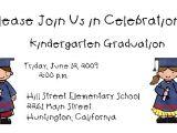 Graduation Invitation Cards for Kindergarten Kingergarten Graduation Invitations