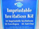 Graduation Invitation Kits Amscan Graduation Party Imprintable Invitation Kit