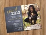 Graduation Invitation Maker Walmart Graduation Invitation Announcement with Photo by Digiprintz
