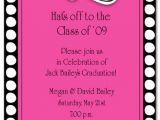 Graduation Invitation Party Wording Sample Wording for Graduation Party Invitations Abou and