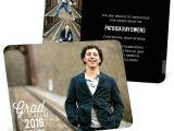 Graduation Invitation Postcards Favorite Photo Horizontal College Graduation