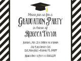 Graduation Invitation Printing Black and White Graduation Invitation Graduation Invite