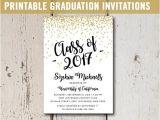 Graduation Invitation Printing College Graduation Invitation Printable High School