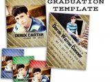Graduation Invitation Templates for Photoshop Items Similar to Psd Senior Graduation Invitation Card