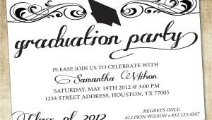 Graduation Invitation Wording Ideas Graduation Party Invitations Graduation Party