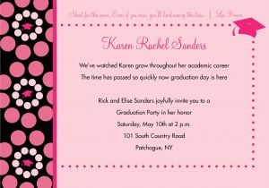 Graduation Invitation Writing Invitation Card for Graduation Party Invitation for