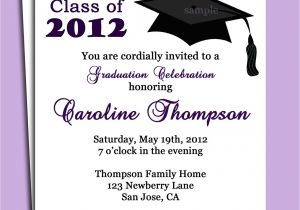 Graduation Invitation Writing Stunning Graduation Party Invitation Card Sample Almost