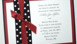 Graduation Invitations Ideas Homemade Diy High School Graduation Announcements Wedding