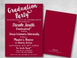 Graduation Invitations Masters Degree Graduation Party Invitation Save the Date College Masters Diy